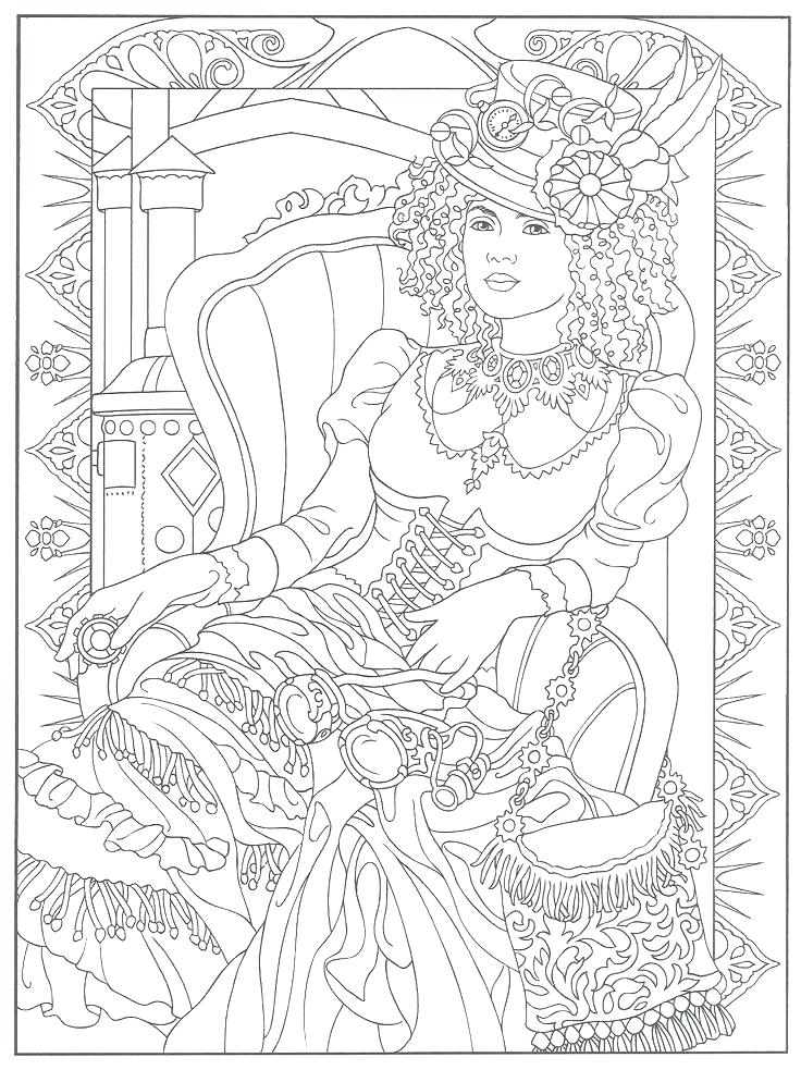 736x983 Dover Coloring Pages Best Coloring Images On Coloring Books