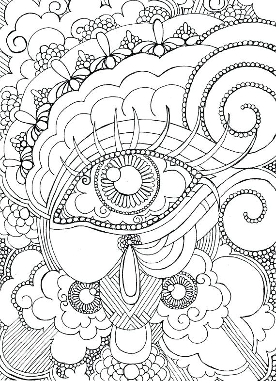 570x786 Adult Coloring Pages Steampunk Free Printable Coloring Pages