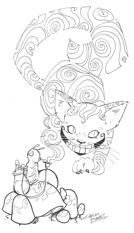 462x800 Halloween Cat Coloring Pages For Adults
