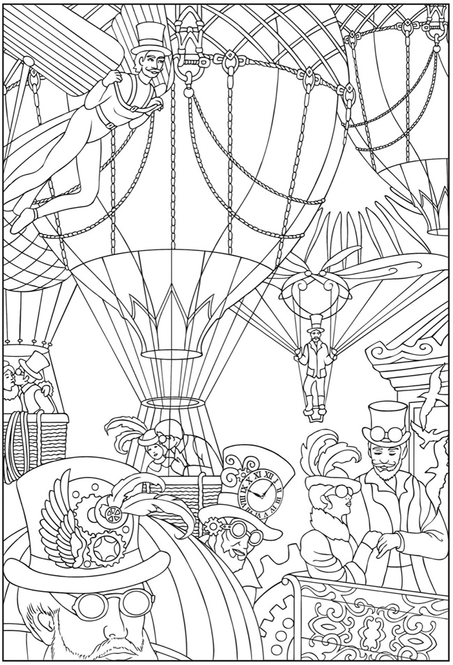 650x954 Steampunk Gears Coloring Pages Free Mechanics Coloring Pages Steam