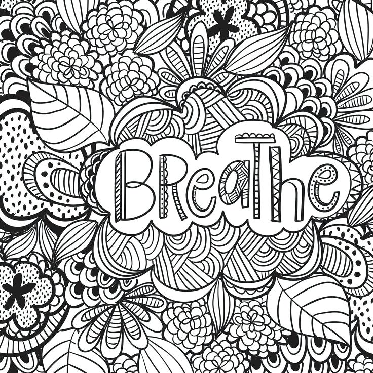 736x737 Stress Relief Coloring Pages Together With Stress Relief Coloring