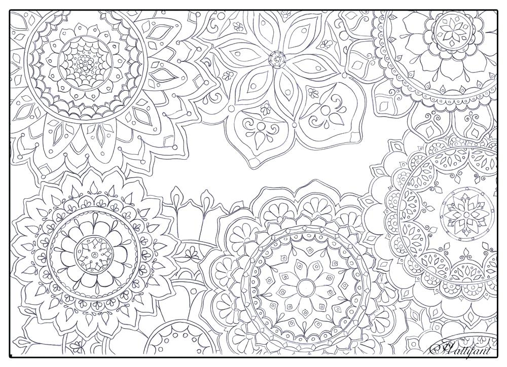 1000x724 Stress Relief Coloring Pages Color Pages For Stress Relief Pages