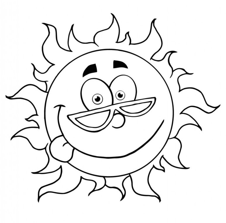 Free Summer Coloring Pages For Preschoolers