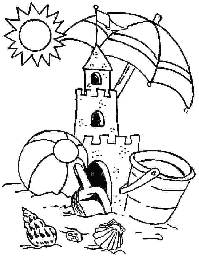 Free Summer Coloring Pages For Preschoolers At Getdrawings Free Download