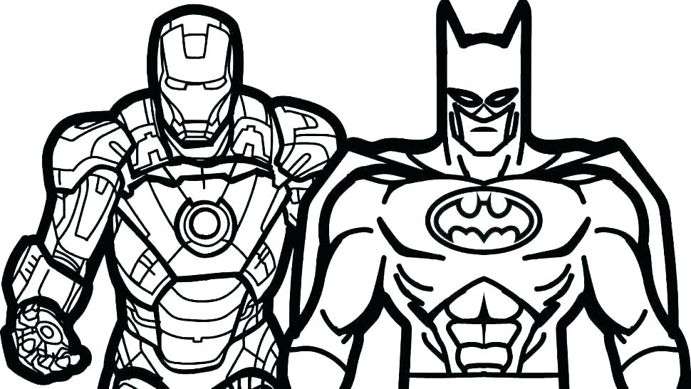 Free Superhero Coloring Pages at GetDrawings | Free download