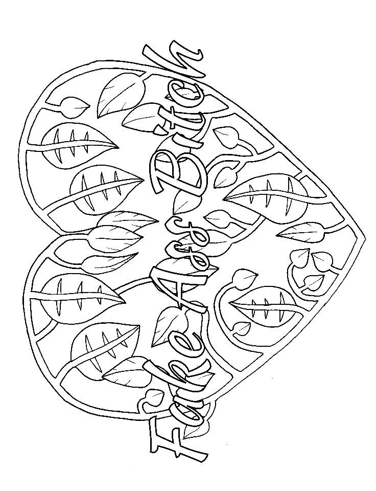 736x960 Free Printable Swear Word Coloring Pages