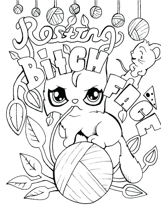 518x668 Printable Coloring Sheets For Adults Or Free Printable Coloring