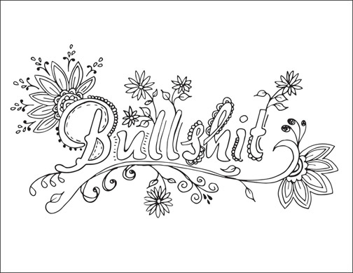 504x389 Printable Cuss Word Coloring Pages