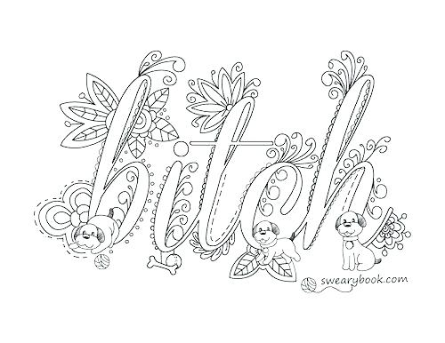 500x386 Swear Word Coloring Pages Printable And Elegant Swear Coloring