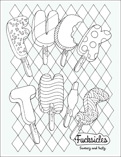 389x504 Adult Coloring Books Swear Word Coloring Book