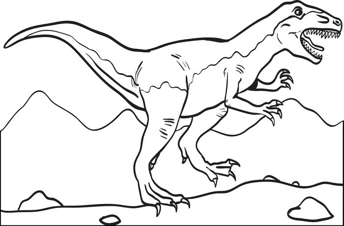700x461 T Rex Printable Coloring Pages Printable T Dinosaur Coloring Page