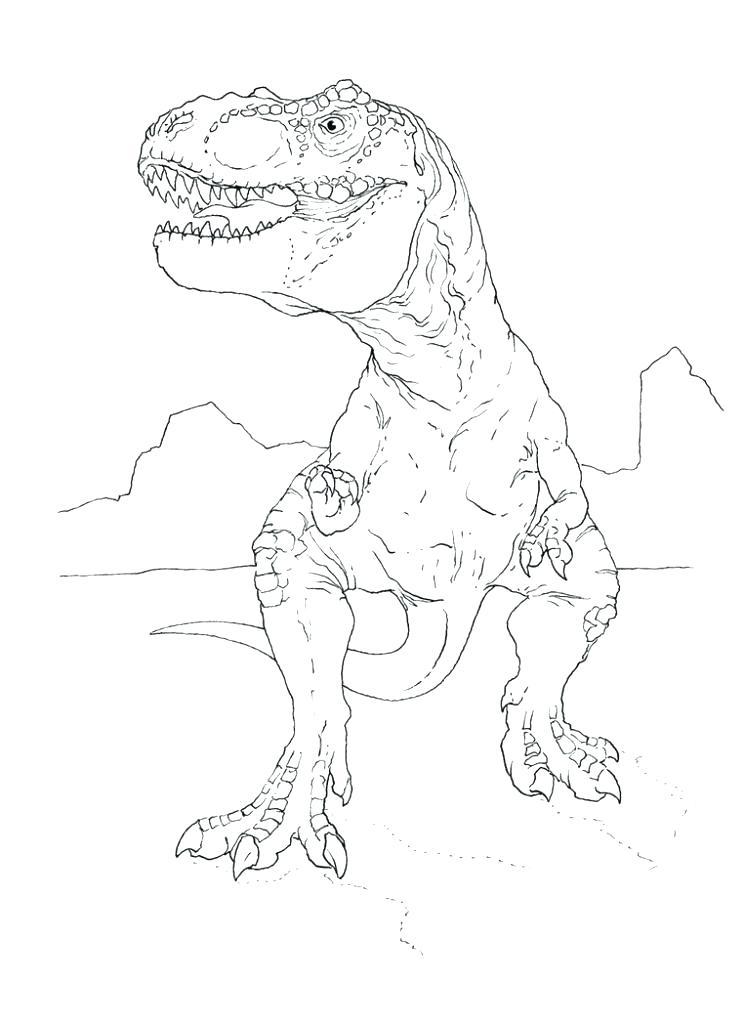 744x1024 Tyrannosaurus Rex Coloring Page Complete T Coloring Page Crayola