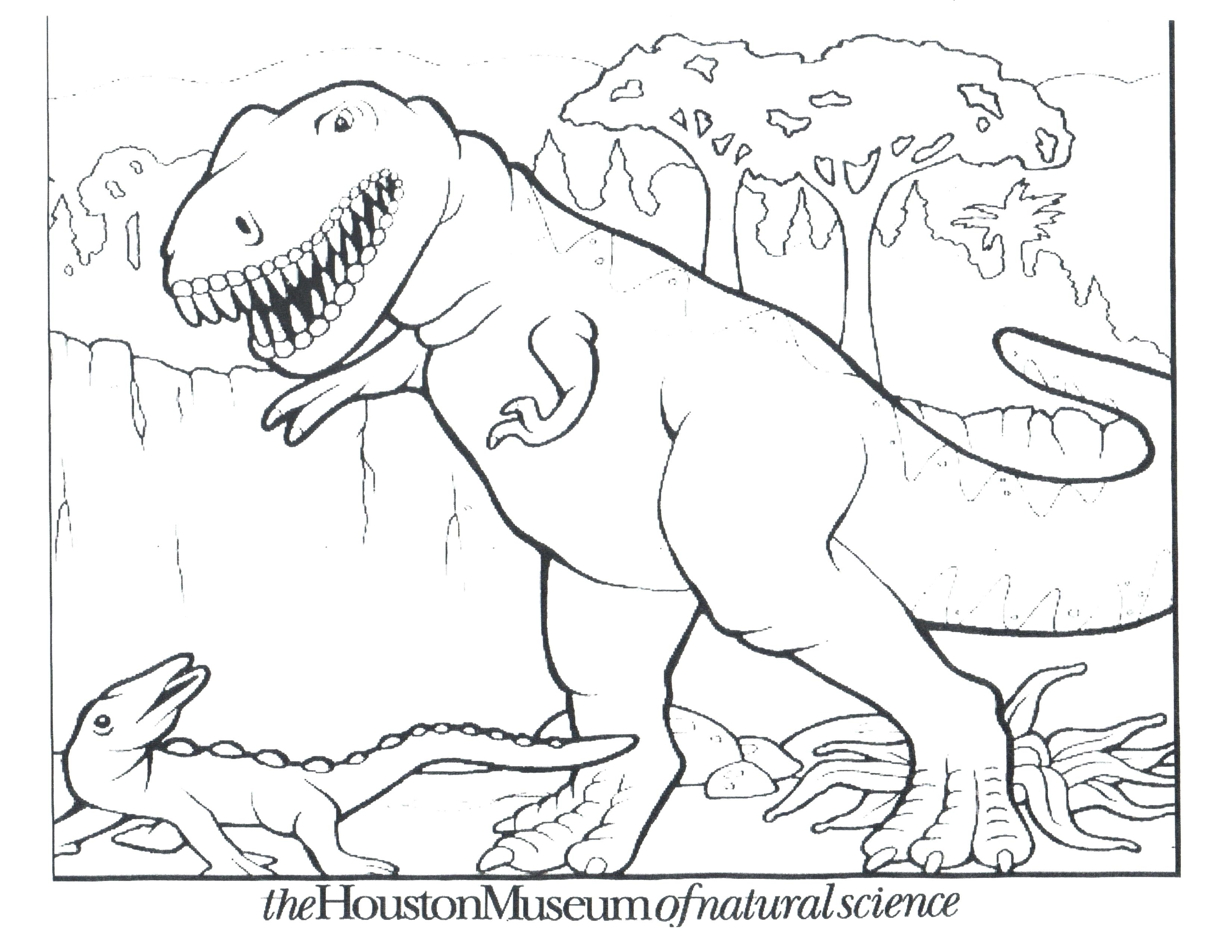 Free t rex coloring pages at getdrawings com free for personal use