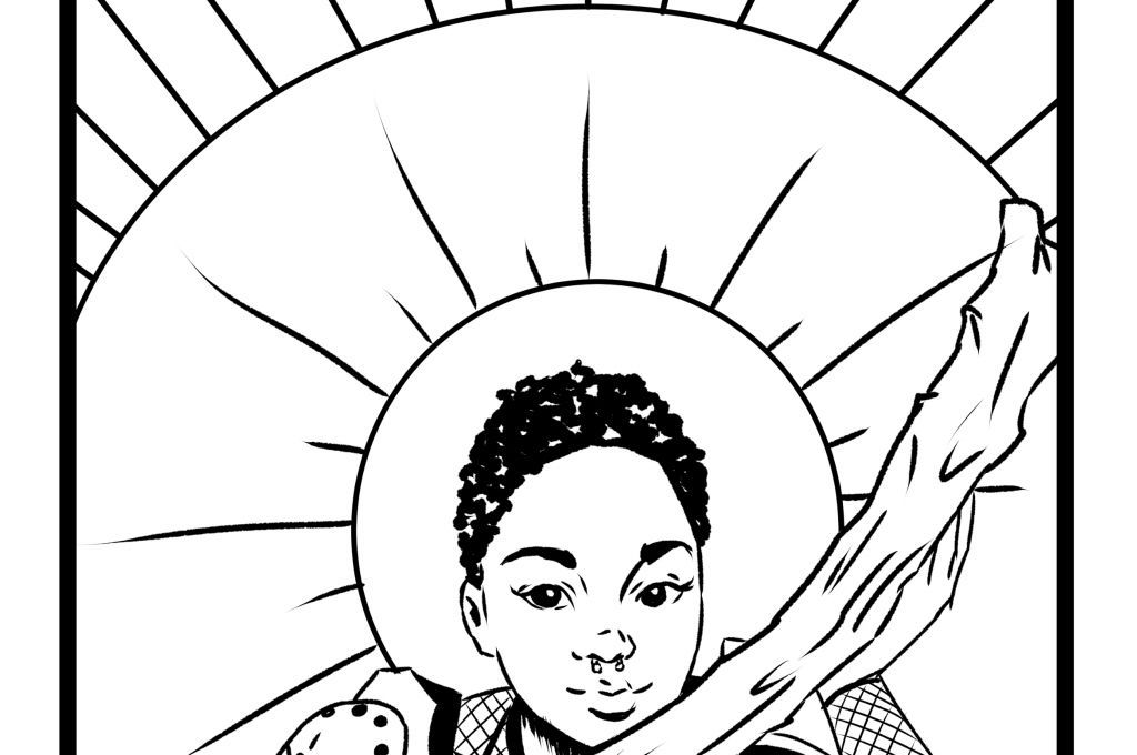 1024x680 Free Tarot Card Coloring Page Coloring Books Free