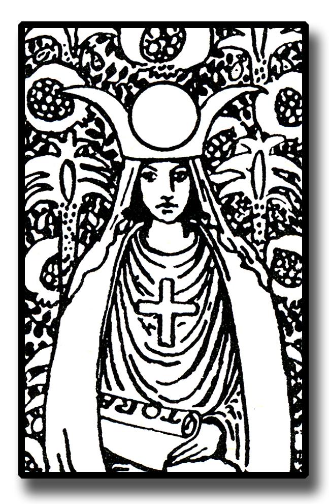 648x990 Symbols Of The High Priestess Of The Tarot
