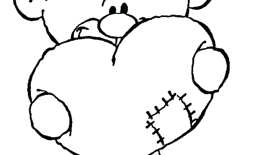 1024x600 Coloring Pages Teddy Bears Teddy Bear Coloring Pages For Kids