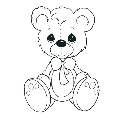 548x506 Free Coloring Pages To Print Teddy Bear Coloring Pages Free Color