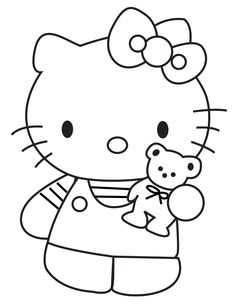 236x305 Free Printable Hello Kitty Coloring Pages For Kids Free