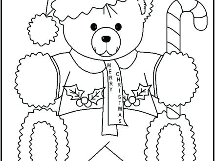 440x330 Teddy Bear Coloring Pages Teddy Bear With Teddy Bears Coloring