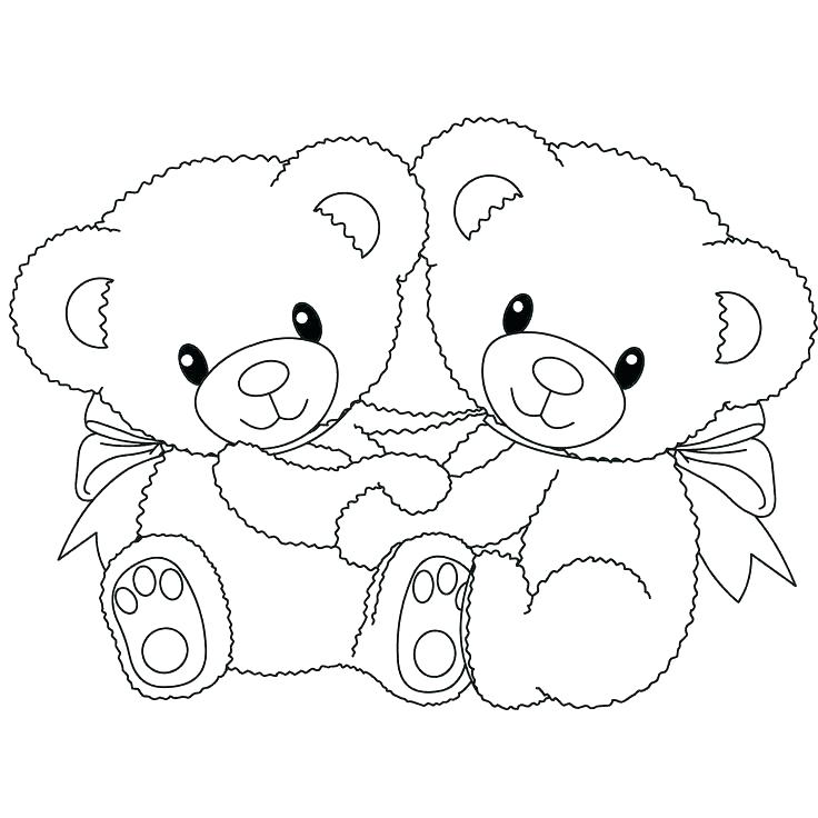 736x736 Teddy Bear Printable Coloring Pages Polar Bear Printable Coloring