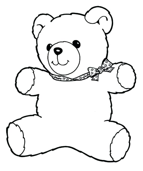 600x718 Coloring Page Free Bear Coloring Pages Coloring Page Christmas