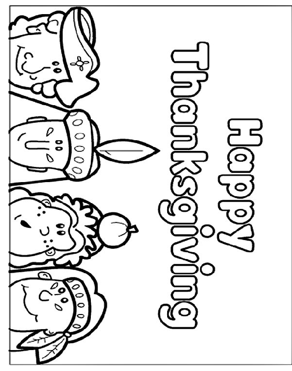 Free Thanksgiving Coloring Pages Crayola