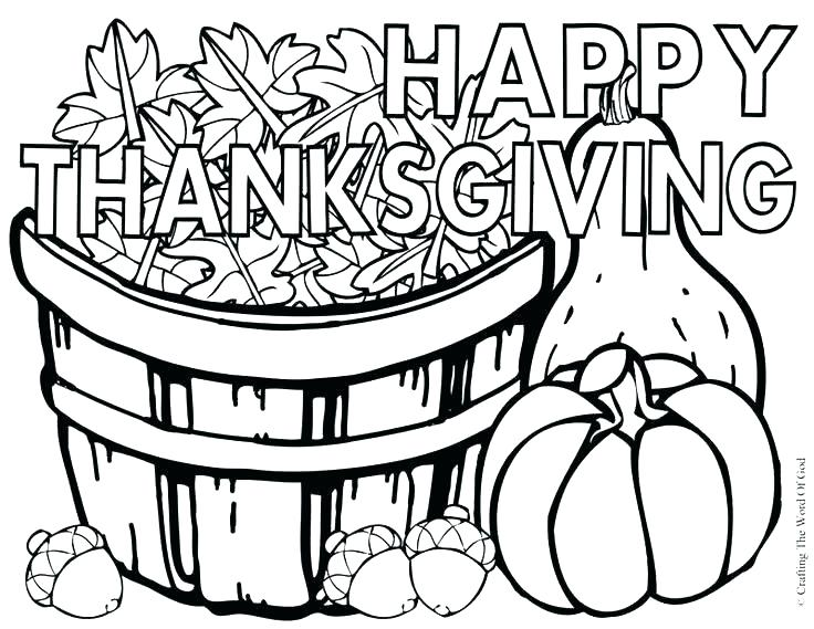 736x569 Thanksgiving Color Pages Free Thanksgiving Color Sheets Free