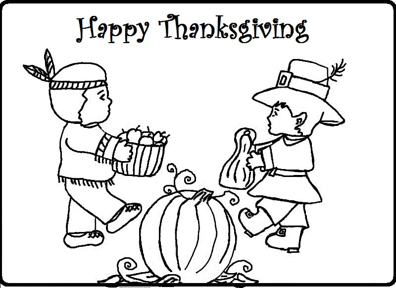 800x581 Pilgrims Coloring Pages Free