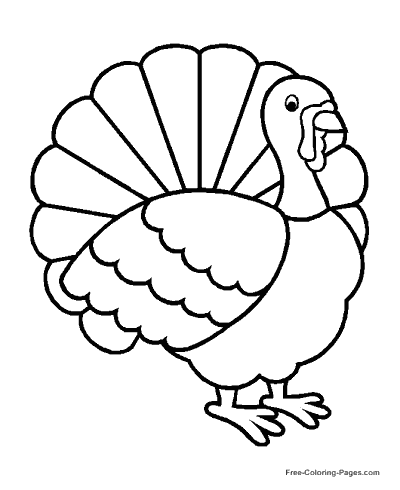 400x490 Thanksgiving Coloring Pages, Sheets And Pictures