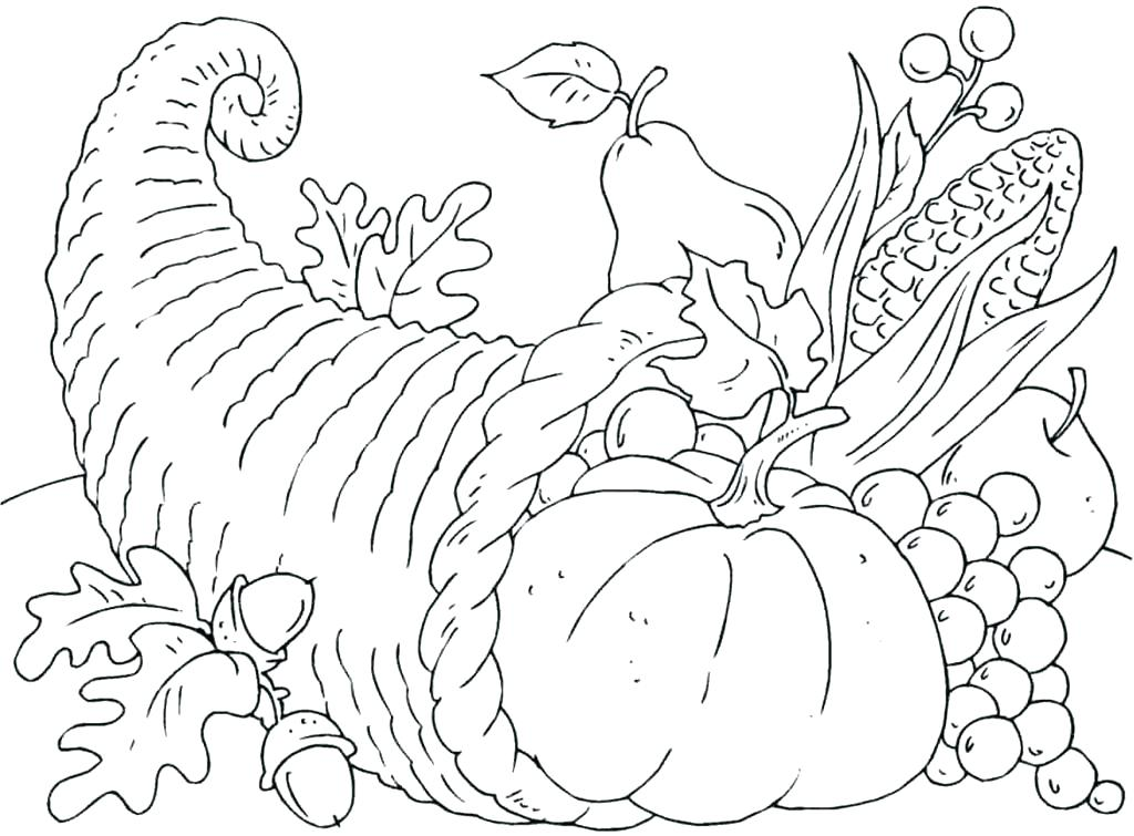 1024x755 Thanksgiving Coloring Pages Free Printable Coloring Pages That Are