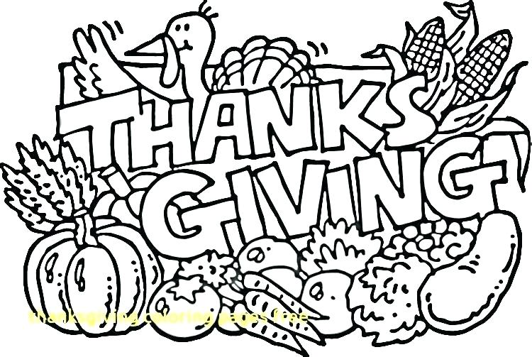 750x503 Thanksgiving Coloring Pages Turkey Printable Free With Enchanting