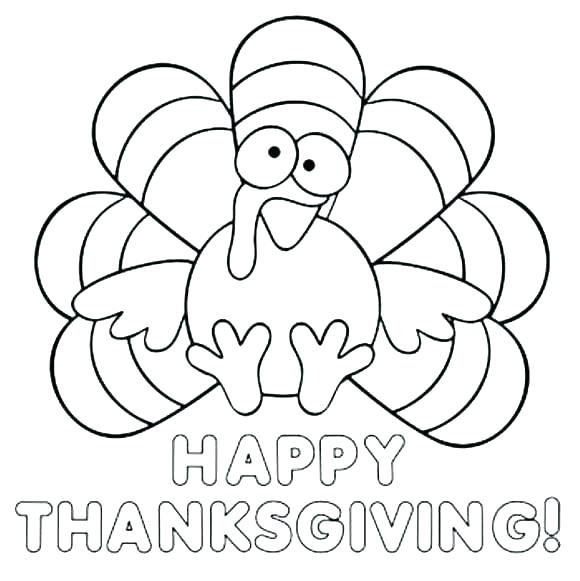 580x581 Printable Thanksgiving Coloring Pages