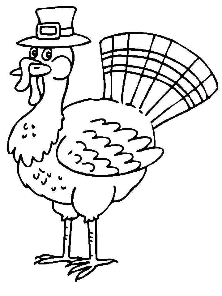 Free Thanksgiving Coloring Pages For Preschoolers
