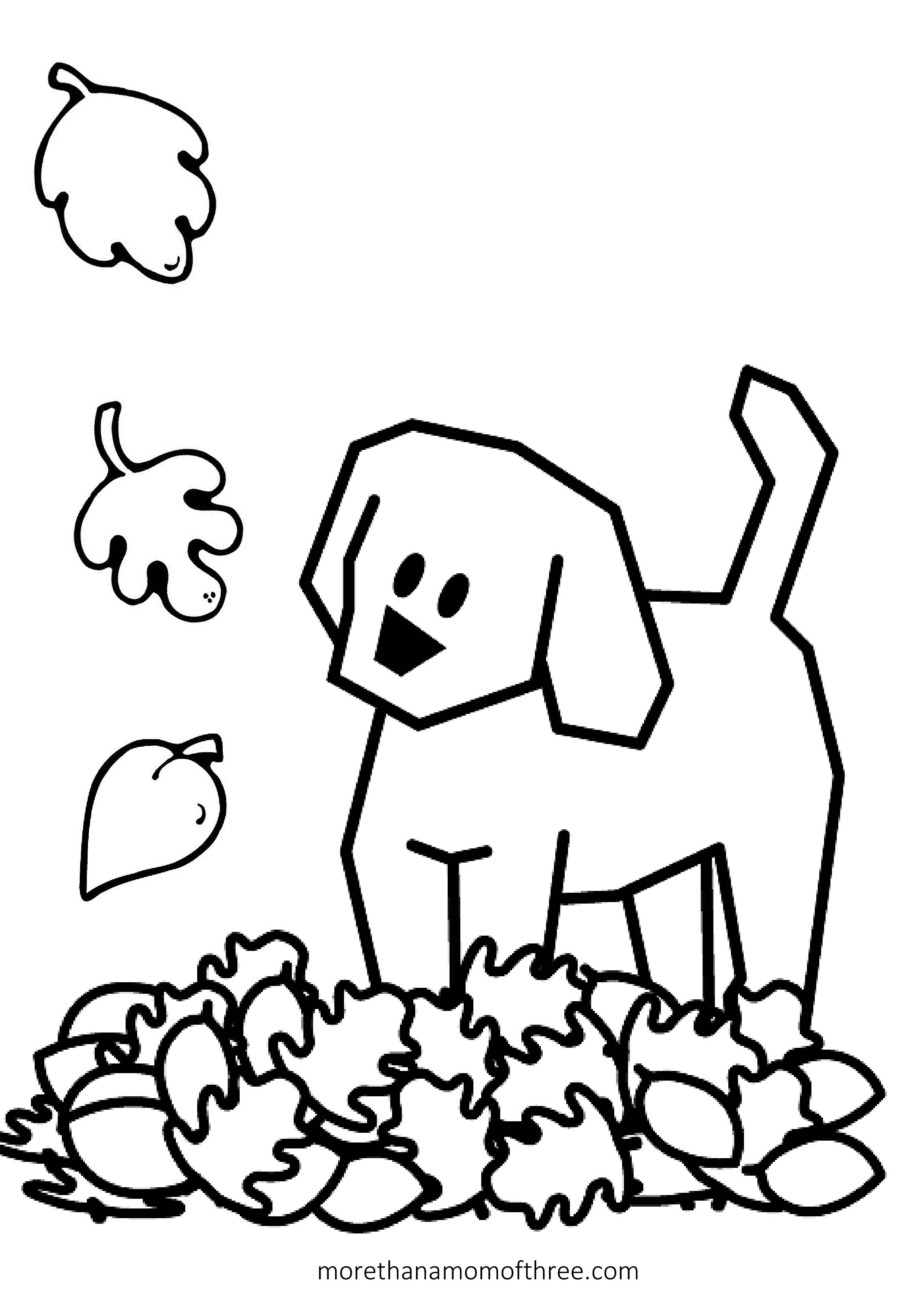 Free Thanksgiving Coloring Pages For Preschoolers At