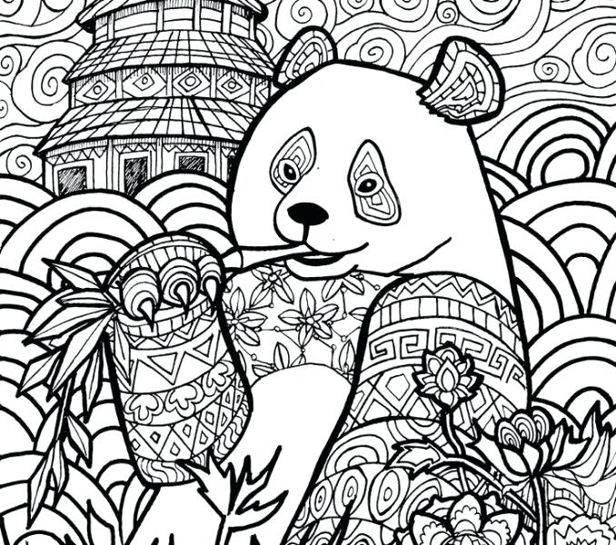 678x600 Art Therapy Coloring Pages