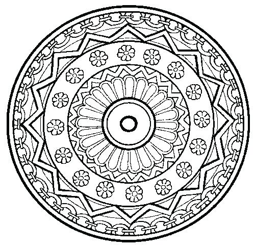 500x484 Coloring Therapy For Adults