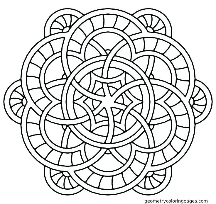 736x696 Christmas Mandala Coloring Pages Printable Mandala Coloring Pages