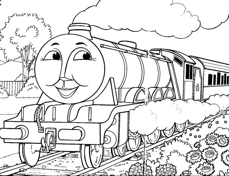 736x567 Free Printable Thomas The Train Coloring Pages Free Coloring Pages