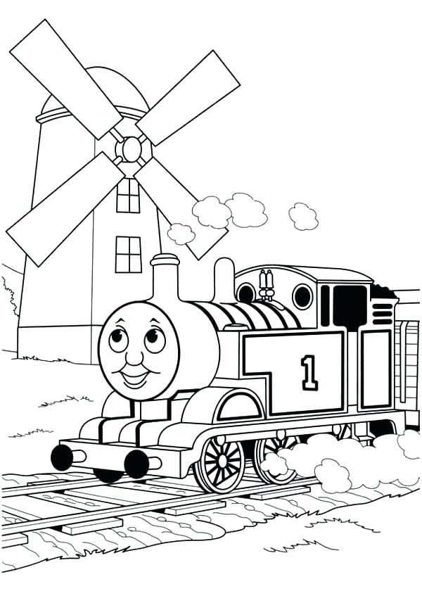 600x840 Thomas And Friends Coloring Page And Friends Pictures To Color