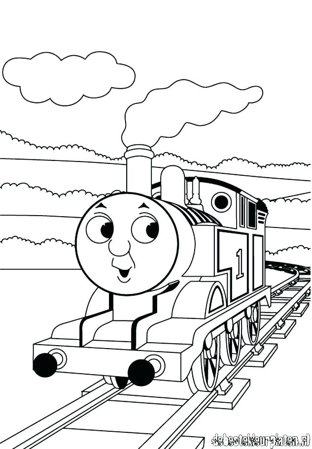 633x912 Thomas And Friends Coloring Pages Free Online Thomas And Friends