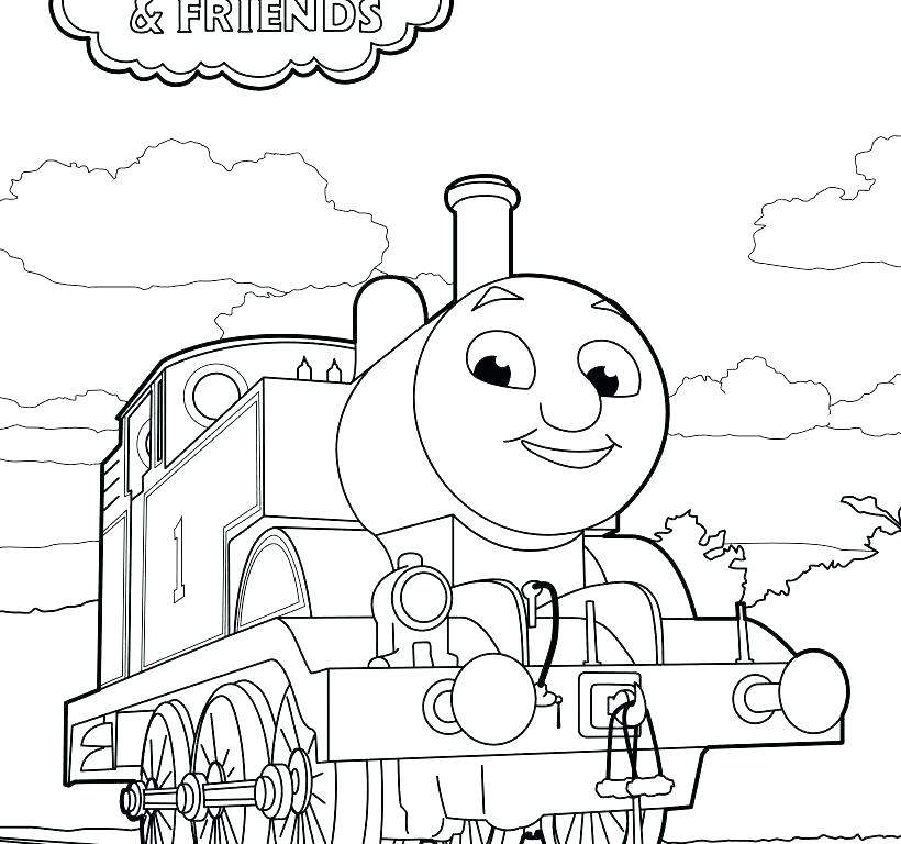 820x768 Thomas And Friends Coloring Plus And Friends Coloring Books Also