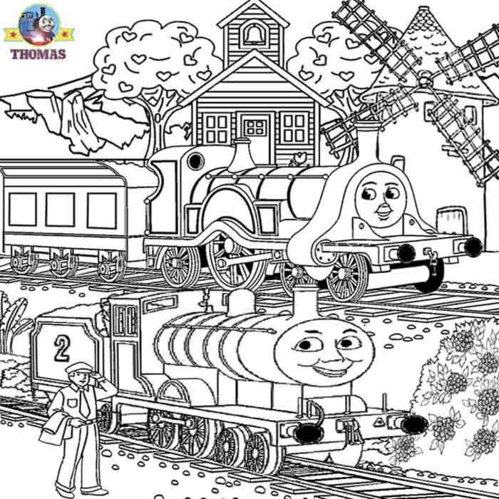 Free Thomas And Friends Coloring Pages At Getdrawings Com Free For