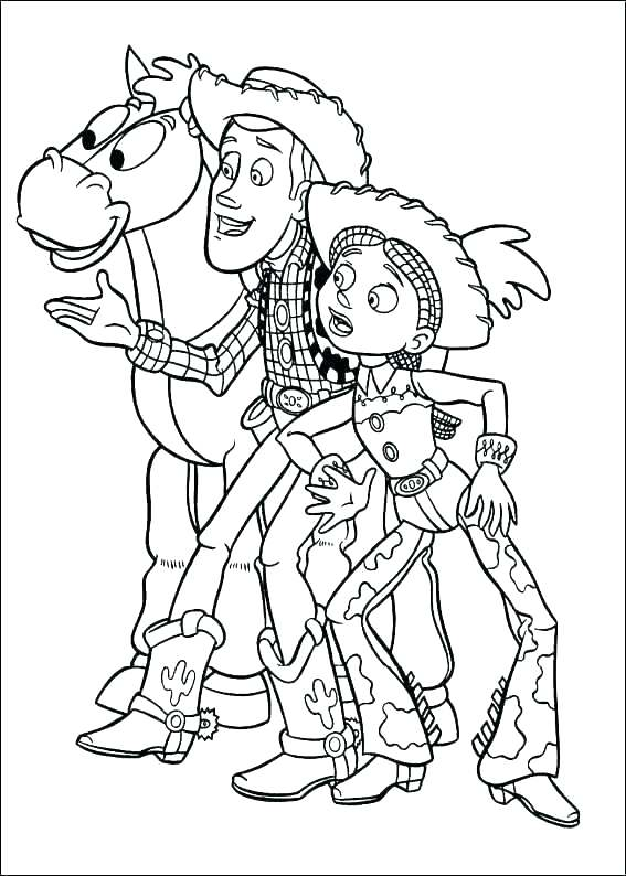 567x794 Woody Toy Story Coloring Pages Woody Toy Story Coloring Pages Toy