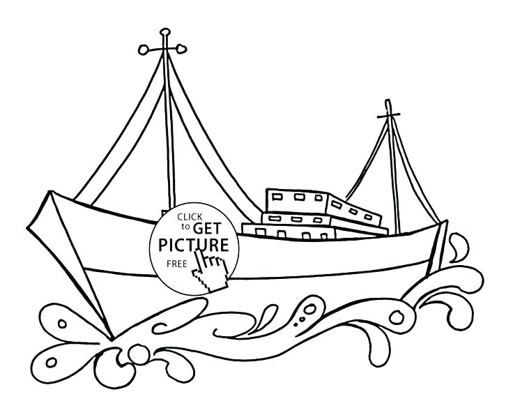 736x595 Transportation Coloring Sheets Transportation Coloring Pages Cargo