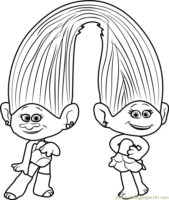 678x800 Trolls Coloring Pages Beautiful Satin And Chenille From Trolls