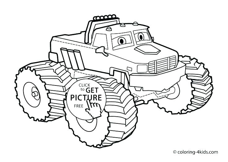 Free Truck Coloring Pages At Getdrawings Com