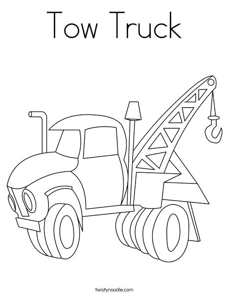 468x605 Tow Truck Coloring Pages Tow Truck Coloring Page Free Printable