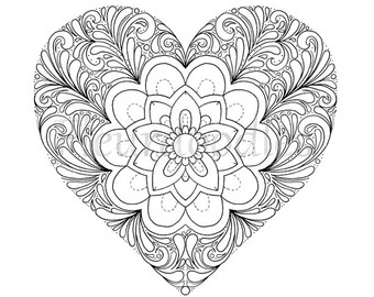 Free Valentine Coloring Pages For Adults at GetDrawings.com | Free ...