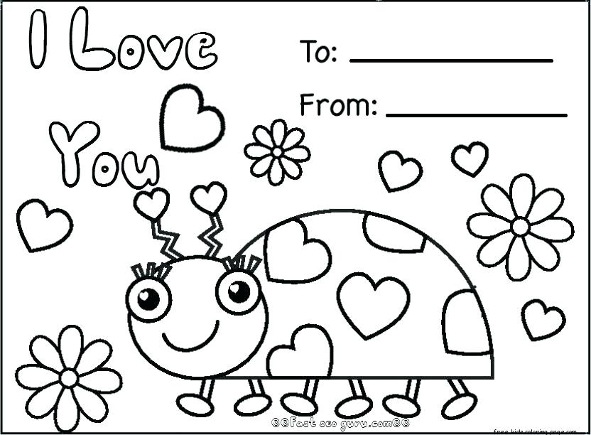 832x612 Printable Valentine Coloring Pages Free Valentine Coloring Pages