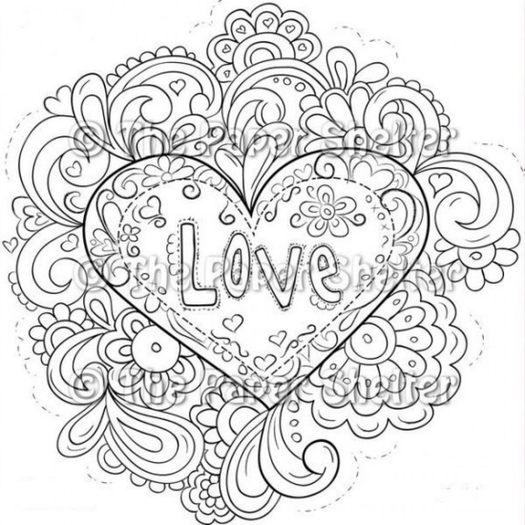 1024x1024 These Free Valentines Coloring Pages Are Perfect For Class